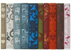 Clothbound Penguin Classics Spines