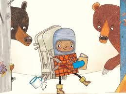 A Beginners Guide to Bear Spotting illo spread jpg