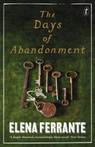 Days of Abandonement Elena Ferrante