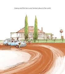 Granny's Place illo spread