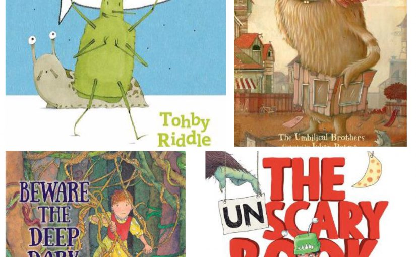 Not So Scary Picture Books for Halloween