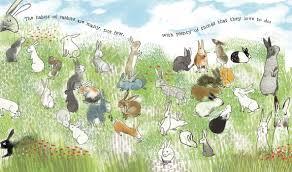 The Wonderful Habits of Rabbits illos spread