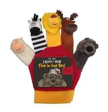 The very Cranky Bear Puppets