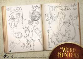Word Hunter sketches