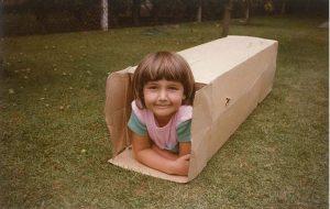 Deborah as a child